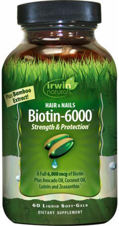 Biotin-6000 Hair & Nails
