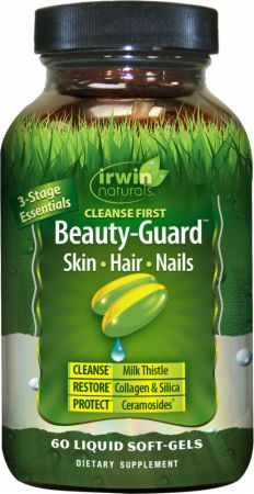 Image of Cleanse First: Beauty-Guard Skin, Hair, Nails 60 Liquid Softgels - Women's Health Irwin Naturals