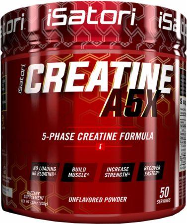 iSatori Creatine A5X Unflavored 50 Servings - Creatine