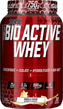 Image of 100% BIO ACTIVE WHEY Vanilla Swirl 2.3 Lbs. - Protein Powder iSatori