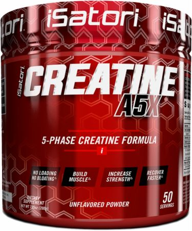 Image of Creatine A5X Unflavored 50 Servings - Creatine iSatori