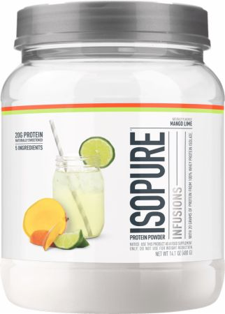 Image of Isopure Infusions WPI Mango Lime 400 Grams - Protein Powder Isopure