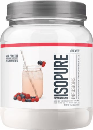 Image of Isopure Infusions WPI Mixed Berry 400 Grams - Protein Powder Isopure