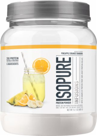 Image of Isopure Infusions WPI Pineapple Orange Banana 400 Grams - Protein Powder Isopure