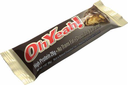 Image of OhYeah! Nutrition OhYeah! Bars 12 - 85g Bars Chocolate & Caramel
