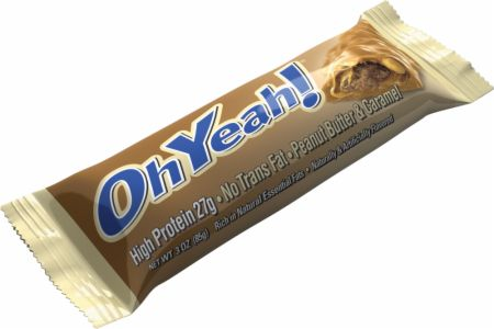 Image of OhYeah! Bars Peanut Butter & Caramel 12 - 85g Bars - Protein Bars OhYeah! Nutrition