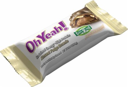 OhYeah! Nutrition OhYeah! Bars Almond Fudge Brownie 12 - 45g Bars - Protein Bars
