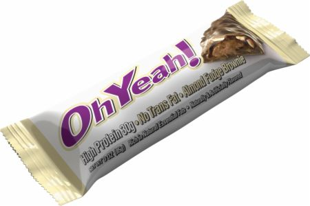 OhYeah! Nutrition OhYeah! Bars Almond Fudge Brownie 12 - 85g Bars - Protein Bars