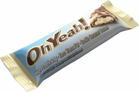 OhYeah! Nutrition OhYeah! Bars Cookie Caramel Crunch 12 - 85g Bars - Protein Bars