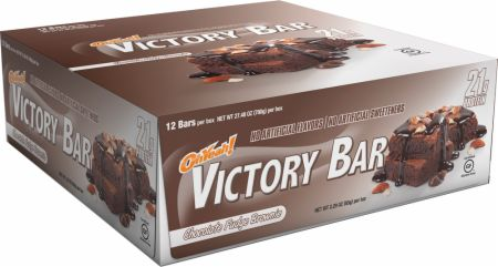 OhYeah! Nutrition OhYeah! Victory Bars Chocolate Chip Cookie Dough 12 - 65g Bars - Protein Bars