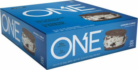 Image of ONE Bar Cookies & Creme 12 - 60g Bars - Protein Bars ONE