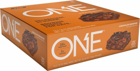 Image of ONE Bar Chocolate Brownie 12 - 60g Bars - Protein Bars ONE