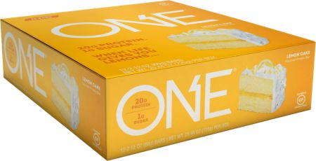 Image of ONE Bar Lemon Cake 12 - 60g Bars - Protein Bars ONE