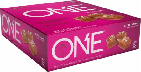 ONE ONE Bar Salted Caramel 12 - 60g Bars - Protein Bars