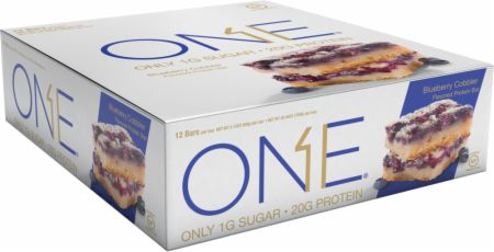 ONE ONE Bar Blueberry Cobbler 12 - 60g Bars - Protein Bars