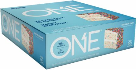 Image of ONE Bar Birthday Cake 12 - 60g Bars - Protein Bars ONE