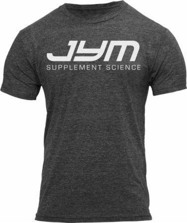 Image of JYM Supplement Science JYM Tee Large Charcoal Heather