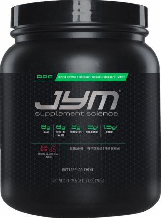 Pre JYM Pre Workout Powder