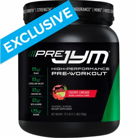 Pre JYM Cherry Limeade 30 Servings - Pre-Workout Supplements JYM Supplement Science