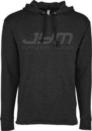 Image of Classic Logo Hoodie Heather Black Small - Men's Hoodies & Sweatshirts JYM Supplement Science