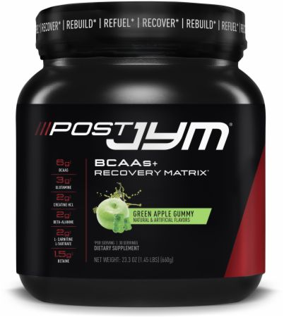 Post JYM Recovery and Active BCAAs Powder