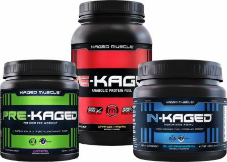Kaged Muscle Pre-Intra-Post Stack