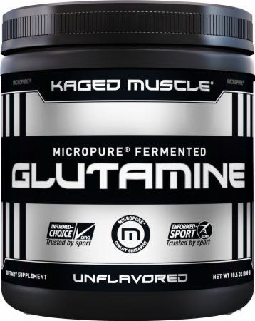 Image of Kaged Muscle Glutamine Powder 300 Grams Unflavored