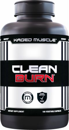 Image of CLEAN BURN 180 Vegetable Capsules - Fat Burners Kaged Muscle