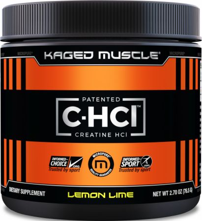 Image of Kaged Muscle C-HCl 75 Servings Lemon Lime