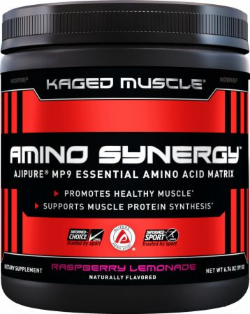 Kaged Muscle Amino Synergy, 30 Servings + Caffeine        Essential Amino Acids to Support Workout Recovery.Fermented and Vegan-Sourced.