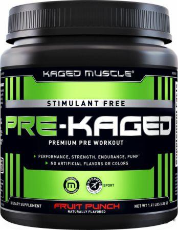Stimulant Free Pre-Kaged Pre Workout