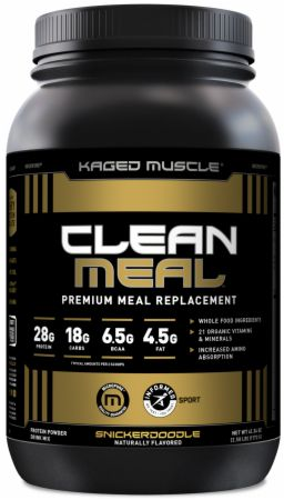 Image of Clean Meal Snickerdoodle 20 Servings (2.61 Lbs.) - Meal Replacement Kaged Muscle