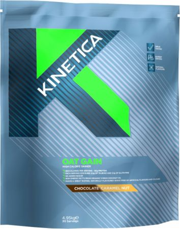 Image of Kinetica Oat Gain 4.8 Kilograms Chocolate Caramel Nut