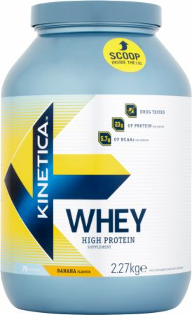 Image of Kinetica Whey Protein 2.27 Kilograms Banana