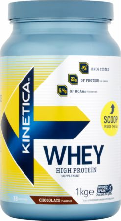 Image of Kinetica Whey Protein 1 Kilogram Chocolate