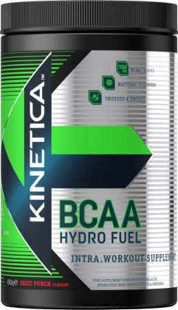 Image of Kinetica BCAA Hydro Fuel 450 Grams Fruit Punch