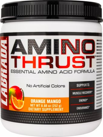 Labrada Amino Thrust Orange Mango 30 Servings - Amino Acids & BCAAs