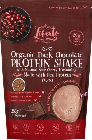 Image of Liberto Organic Protein Shake 280 Grams Dark Chocolate Sour Cherry