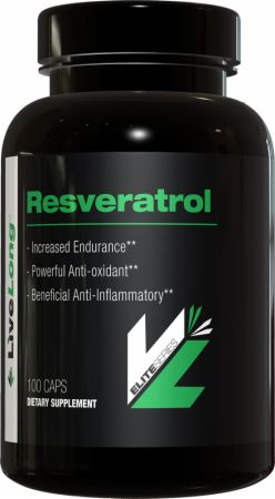 Image of LiveLong Nutrition Resveratrol 100 Capsules