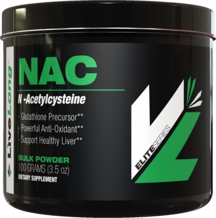 Image of LiveLong Nutrition NAC 100 Grams Unflavored