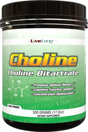 Image of LiveLong Nutrition Choline 0.5 Grams Unflavored