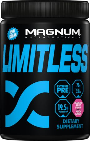 Magnum Nutraceuticals Limitless Fearless Fruit Punch with a Peach Kicker 4 Servings - Pre-Workout Supplements