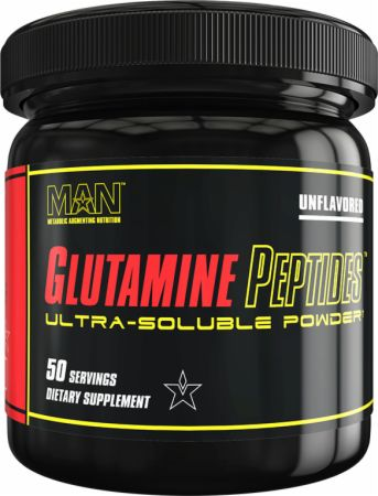 Image of MAN Glutamine Peptides 50 Servings Unflavored