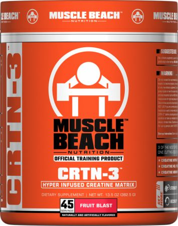 Image of CRTN-3 Fruit Blast 45 Servings - Creatine Muscle Beach Nutrition