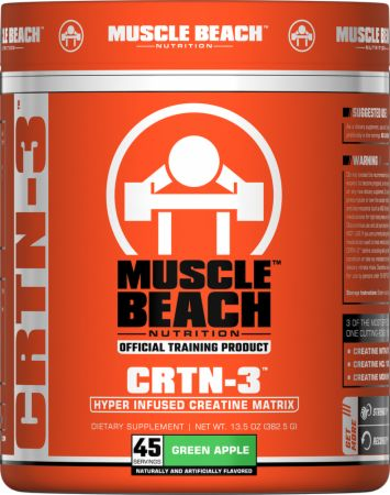 Image of CRTN-3 Green Apple 45 Servings - Creatine Muscle Beach Nutrition