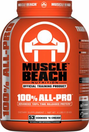 Muscle Beach Nutrition 100% All-Pro