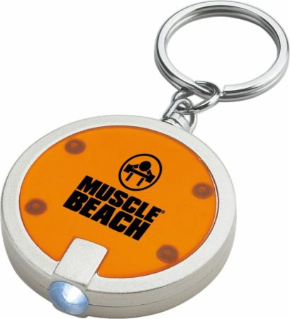 Muscle Beach Key Chain