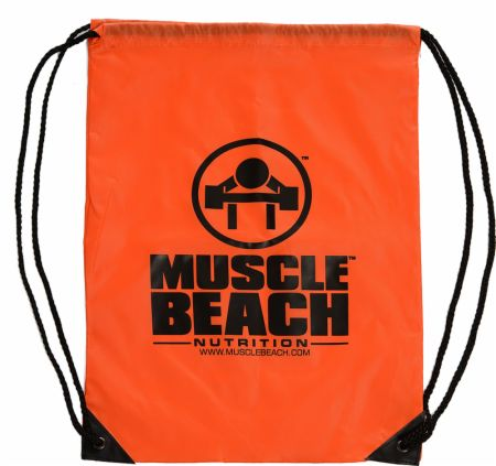 Muscle Beach Drawstring Bag