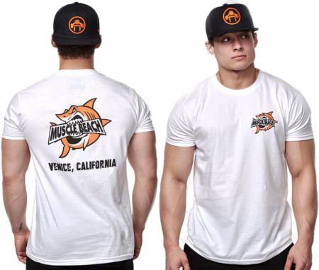 Muscle Beach Shark Crunch T-Shirt