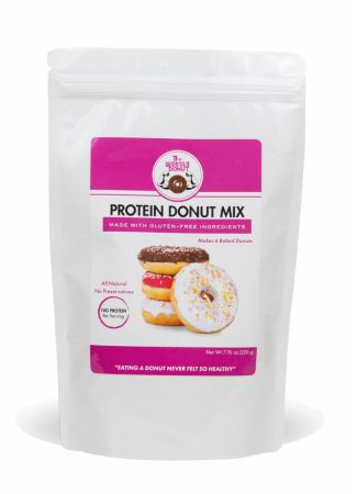 Image of Gluten Free Protein Donut Mix 7.76 Oz. - Desserts The Muscle Donut